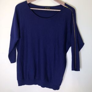 Express Blue Sweater Size Small